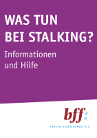 Cover: Was tun bei Stalking